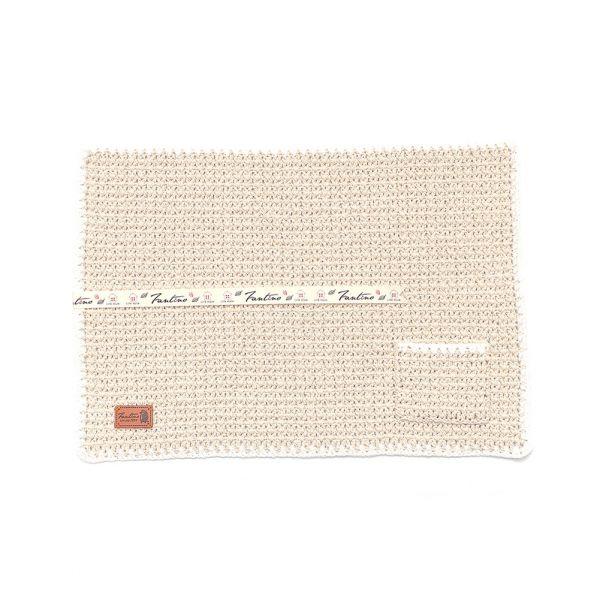職人手作針織編織餐墊/餐具收納袋(不含餐具)-米白色 手工布料,台灣設計,台灣製造,花布設計,質感袋包,文創設計,刺蝟,提袋,包包,居家良品,提袋,手提包,方包,肩背包,側背包