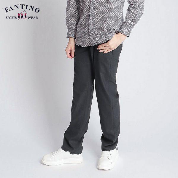 70%羊毛西褲(男)-黑