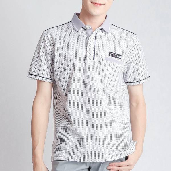 埃及棉POLO衫(男)-粉紫