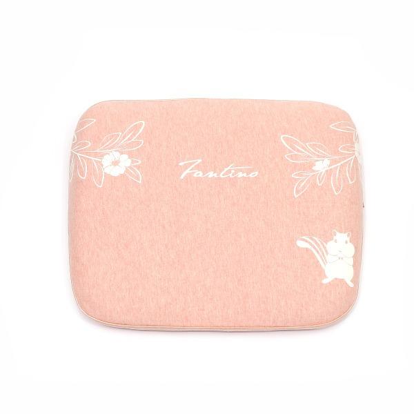 有機棉兒童好眠枕-麻花橙 兒童枕, 有機棉枕頭, 可愛枕頭