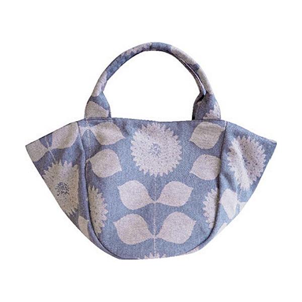 Fantino x Debby 手提袋 - Maison Blanche エ・トワ 尾州オリジナルファブリック-鳶尾(日本製)