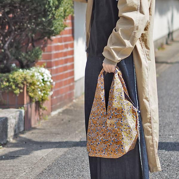 花卉手提袋(日本製)共2色