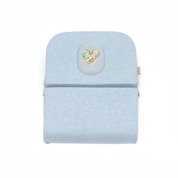 有機棉午休趴枕-麻花藍/腰枕靠枕午休枕3合一枕 午休枕, 午睡枕, 靠枕, 靠腰枕頭, 腰間枕, 腰枕