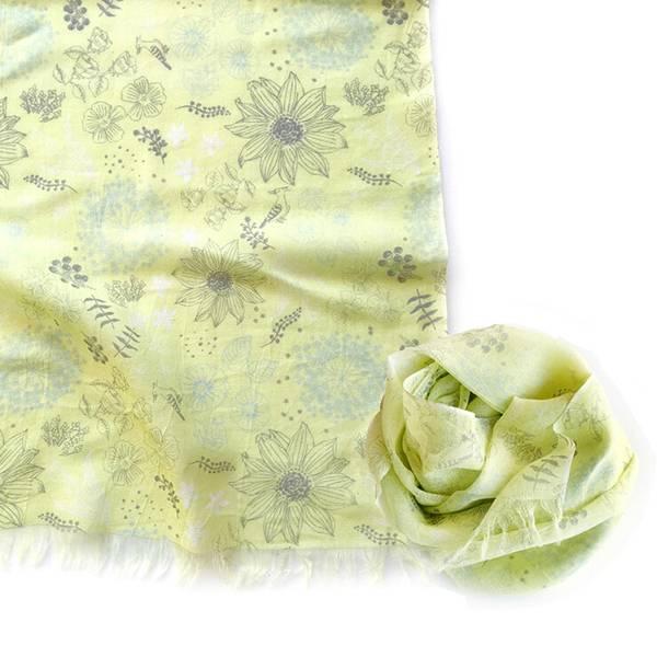 Fantino x Debby 絲巾 - Maison Blanche おさんぽストール -シルク(日本製)