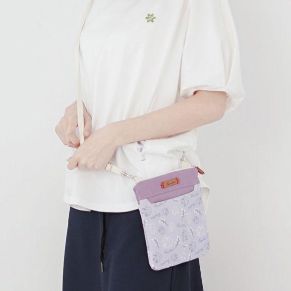 森林萬花筒側背小包-共5色 手工布料,台灣設計,台灣製造,花布設計,質感袋包,文創設計,刺蝟,提袋,包包,居家良品,提袋,手提包,方包,肩背包,側背包