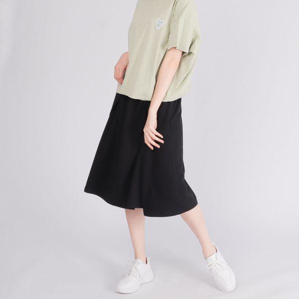 UMORFIL膠原蛋白立體感傘裙(女)-黑