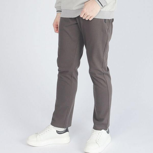 機能休閒棉褲(男)-深灰