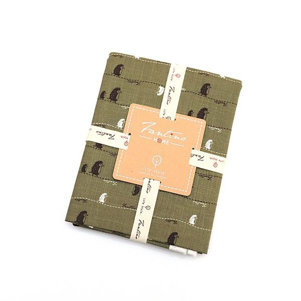 棉麻布料(漫步一線間)-抹茶綠  布,台灣設計,台灣製造,手工藝,布料,文創設計,刺蝟,手作,居家良品,棉麻,布料,服裝輔料,diy,手工製作,手工材料