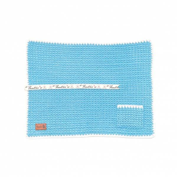 職人手作針織編織餐墊/餐具收納袋(不含餐具)-天空藍 手工布料,台灣設計,台灣製造,花布設計,質感袋包,文創設計,刺蝟,提袋,包包,居家良品,提袋,手提包,方包,肩背包,側背包