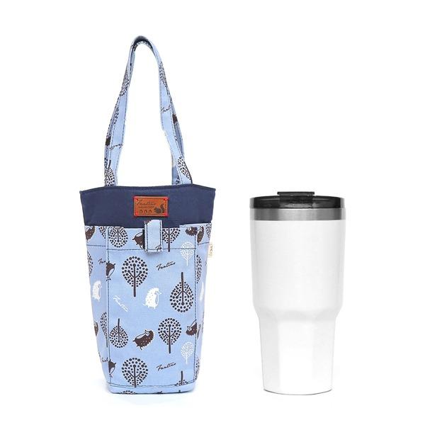 防撞手機水壺袋/水瓶提袋(叢林躲貓貓)-天空藍 飲料杯套,環保杯套,手提杯套,杯套,環保飲料提袋,飲料袋,飲料提袋,婚禮小物,禮物,外帶,環保,防水布,杯套,飲料,提袋,杯套提袋,環保杯袋,環保杯,飲料杯