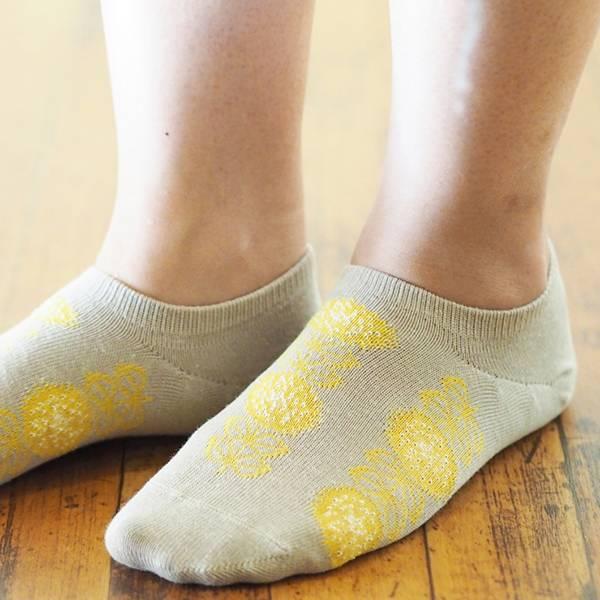 Fantino x Debby 短襪 - Maison Blanche スニーカー ソックス(日本製)