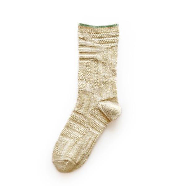 Fantino x Debby 抗疲勞壓縮襪 - Maison Blanche レリーフソックス(日本製)