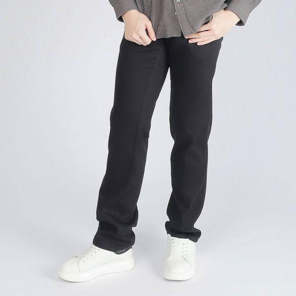 埃及棉休閒棉褲(男)-黑