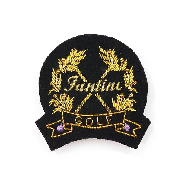 日本設計印度絲手工銅線胸章 - 高爾夫旗幟(共2色) 印度絲,手工,刺繡,銅線,彈簧絲,高爾夫,胸章,徽章