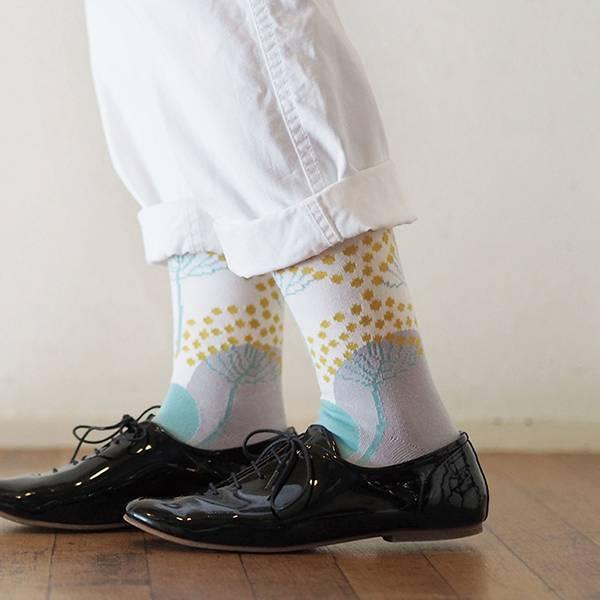 Fantino x Debby 長襪 - Maison Blanche ハイゲージソックス(日本製)