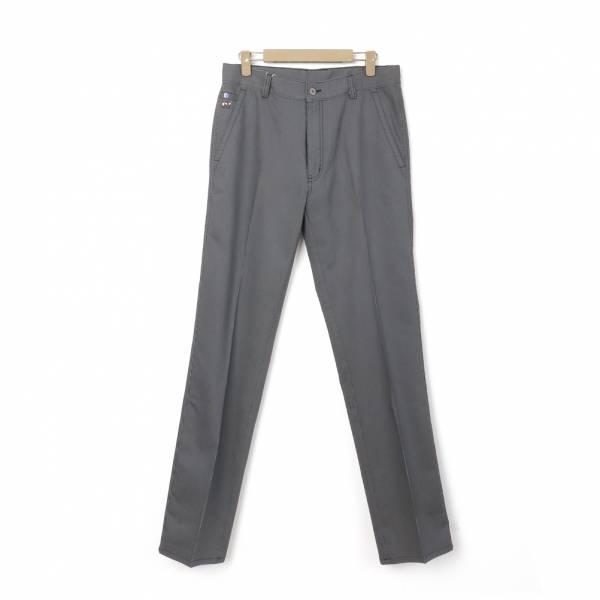 休閒棉褲(男)-鐵灰
