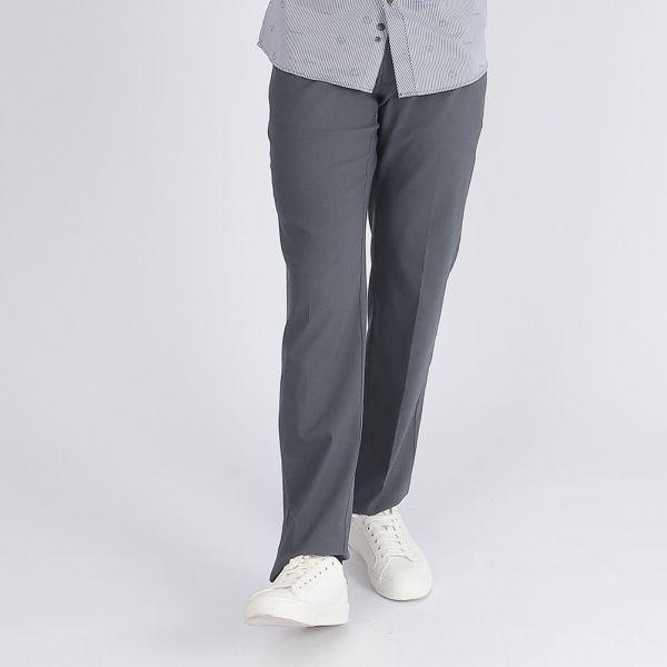 彈性休閒棉褲(男)-共2色