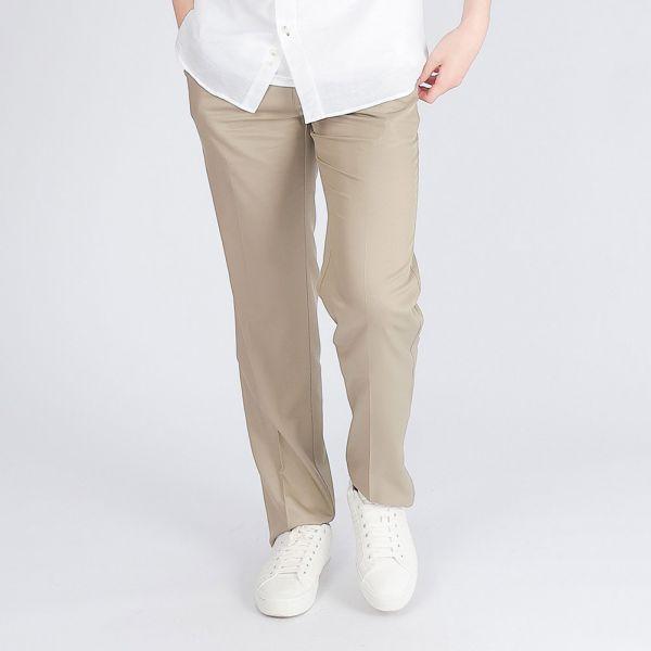 莫代爾Modal彈性打褶休閒棉褲(男)-共2色