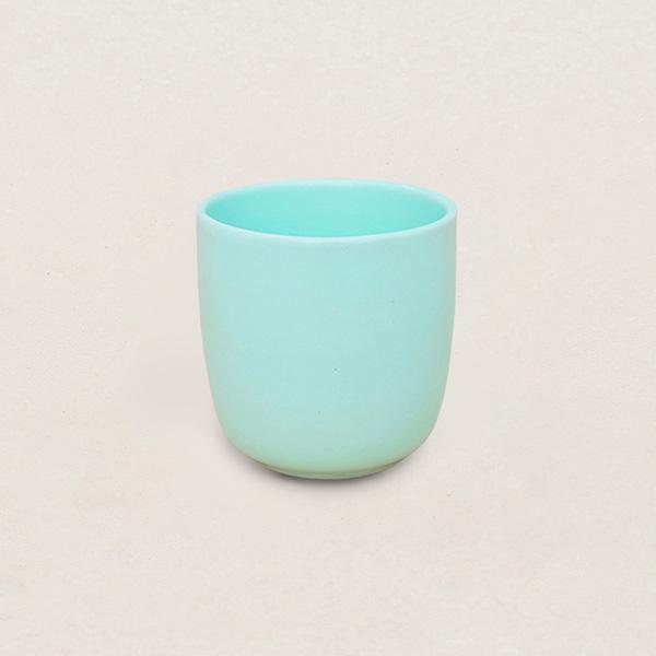 天然瓷土美器-茶杯(湖水綠) 柚木,廚房,餐具,筷子,環保