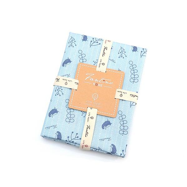 棉麻布料(漂浮森林)-海洋藍  布,台灣設計,台灣製造,手工藝,布料,文創設計,刺蝟,手作,居家良品,棉麻,布料,服裝輔料,diy,手工製作,手工材料