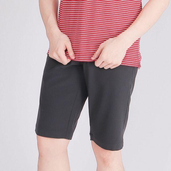 吸濕排汗短褲(男)-鐵灰