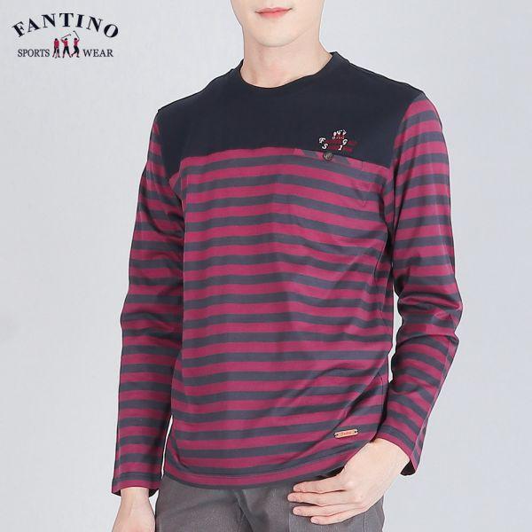 條紋POLO衫(男)-紫條紋48/50/52
