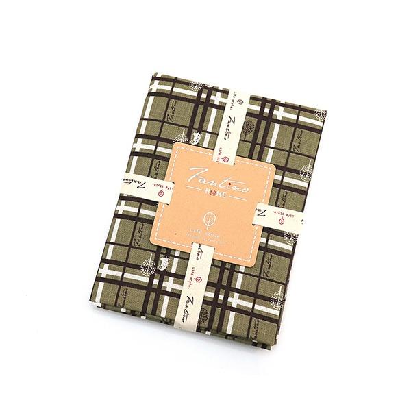 棉麻布料(格紋街區)-抹茶綠  布,台灣設計,台灣製造,手工藝,布料,文創設計,刺蝟,手作,居家良品,棉麻,布料,服裝輔料,diy,手工製作,手工材料