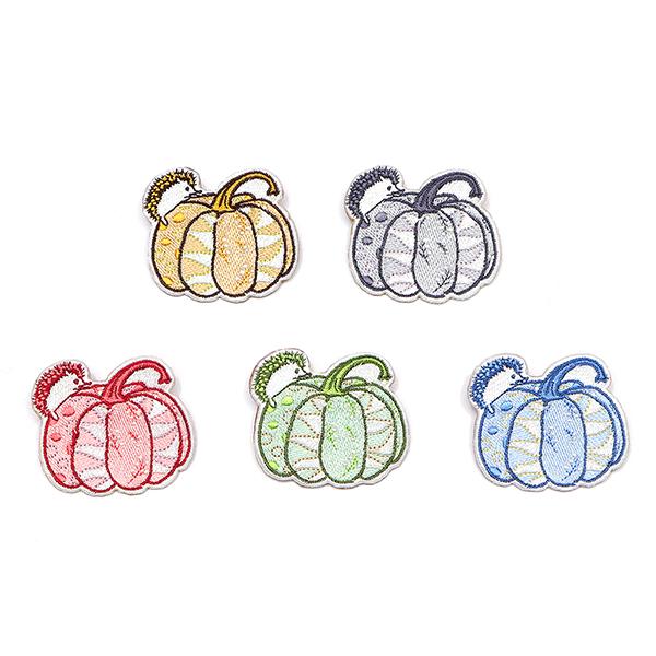 刺繡胸章(童話南瓜園)共5色/獨家設計 胸章,胸針,別針,徽章,交換禮物,徽章,情人節禮物,生日禮物,聖誕禮物,聖誕節