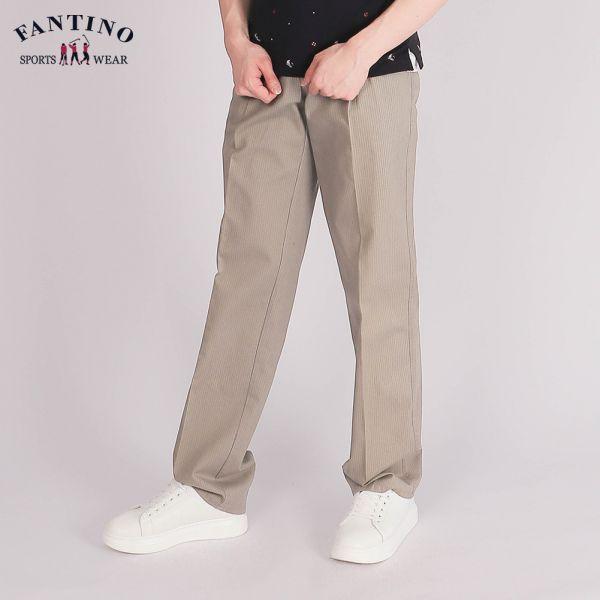 休閒棉褲(男)-卡其50/52