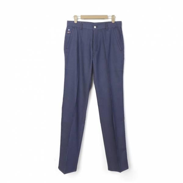 舒適休閒棉褲(男)-藍