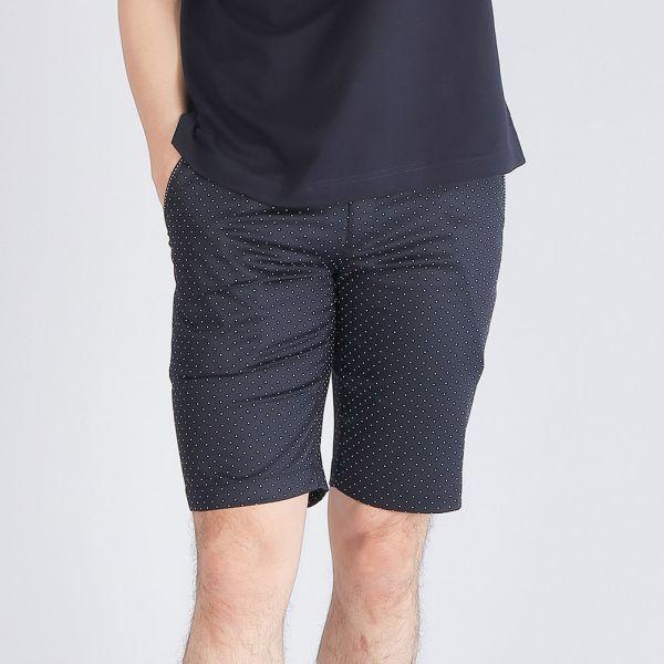 埃及棉短褲(男)-深丈青