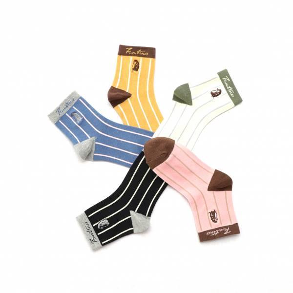 UMORFIL膠原蛋白抗菌除臭襪(刺蝟線條款)共5色 女襪,台灣設計,台灣製造,文青,短襪,文創設計,刺蝟,膠原蛋白,居家良品,襪子