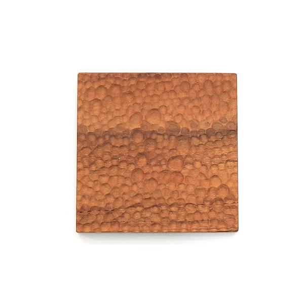 天然柚木方形杯墊-波點款│食用安心不上漆原木製 柚木,廚房,餐具,筷子,環保