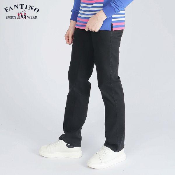 休閒棉褲(男)-黑