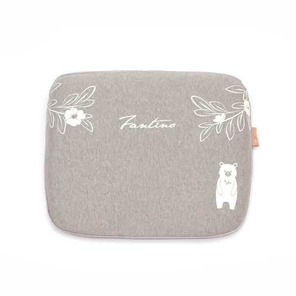 有機棉兒童好眠枕-麻花灰 兒童枕, 有機棉枕頭, 可愛枕頭