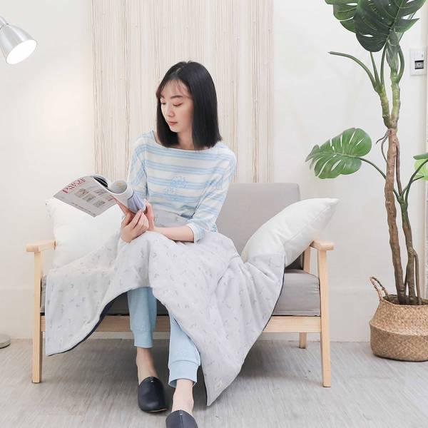 UMORFIL膠原蛋白珊瑚絨童被/兒童被/蓋毯/嬰兒被72X120cm-拼接灰 女襪,台灣設計,台灣製造,文青,短襪,文創設計,刺蝟,膠原蛋白,居家良品,寢具,枕套