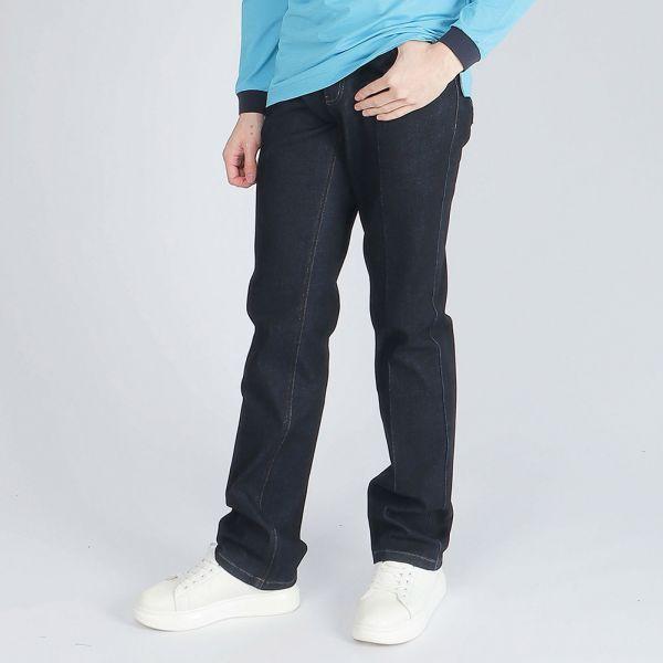 天絲棉牛仔褲(男)-藍