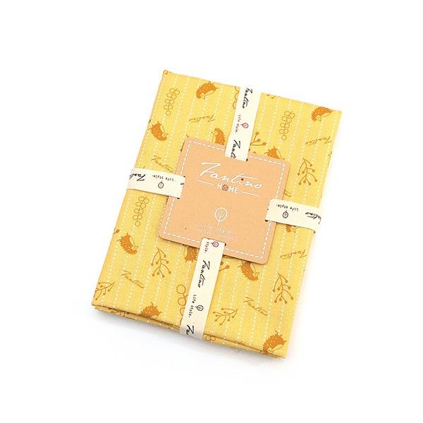 棉麻布料(漂浮森林)-起司黃  布,台灣設計,台灣製造,手工藝,布料,文創設計,刺蝟,手作,居家良品,棉麻,布料,服裝輔料,diy,手工製作,手工材料