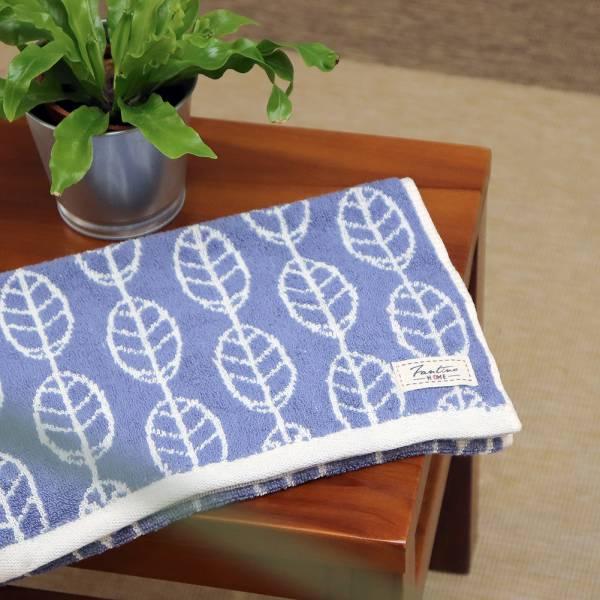 厚質手感色紗百分百棉吸水毛巾-靛藍 毛巾,台灣設計,台灣製造,浴巾組,質感,文創設計,葉子,居家良品,吸水,粉色