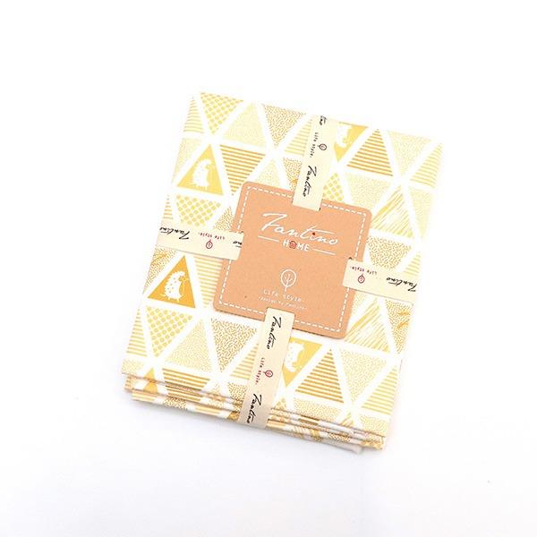 棉麻布料(三角密室)-鵝黃  布,台灣設計,台灣製造,手工藝,布料,文創設計,刺蝟,手作,居家良品,棉麻,布料,服裝輔料,diy,手工製作,手工材料
