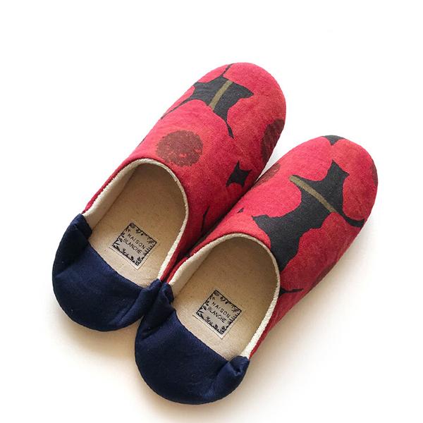 Fantino x Debby 保暖室內拖鞋 - Maison Blanche スリッパ/ルームシューズ(日本製)