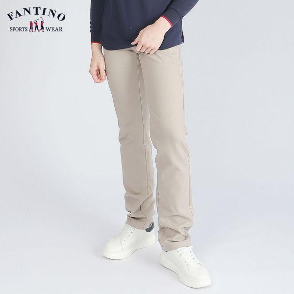 休閒棉褲(男)-卡其