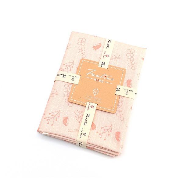 棉麻布料(漂浮森林)-草莓粉  布,台灣設計,台灣製造,手工藝,布料,文創設計,刺蝟,手作,居家良品,棉麻,布料,服裝輔料,diy,手工製作,手工材料