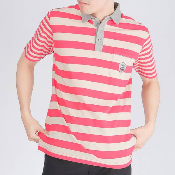 100%埃及棉POLO衫(男)-共2色