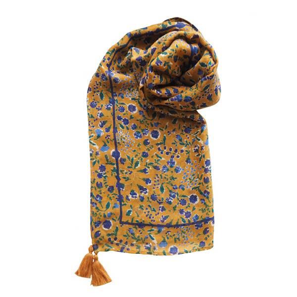 羊毛披肩圍巾(印度製)