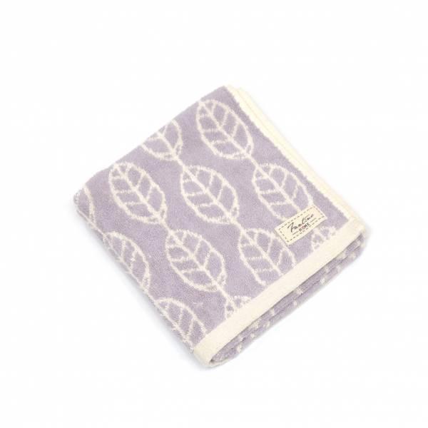 厚質手感色紗百分百棉吸水毛巾-藕紫灰 毛巾,台灣設計,台灣製造,浴巾組,質感,文創設計,葉子,居家良品,吸水,粉色