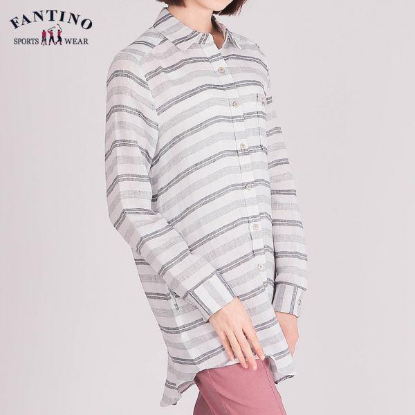 休閒襯衫(女)-白