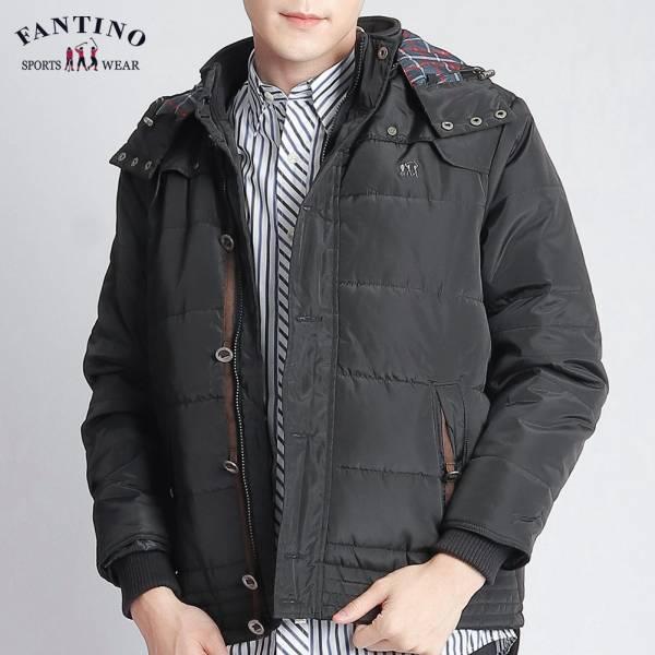冬保暖外套(男)-黑