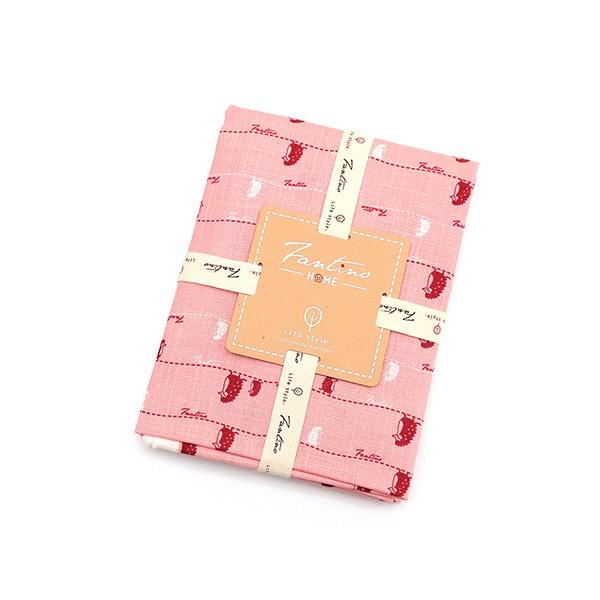 棉麻布料(漫步一線間)-櫻花粉  布,台灣設計,台灣製造,手工藝,布料,文創設計,刺蝟,手作,居家良品,棉麻,布料,服裝輔料,diy,手工製作,手工材料