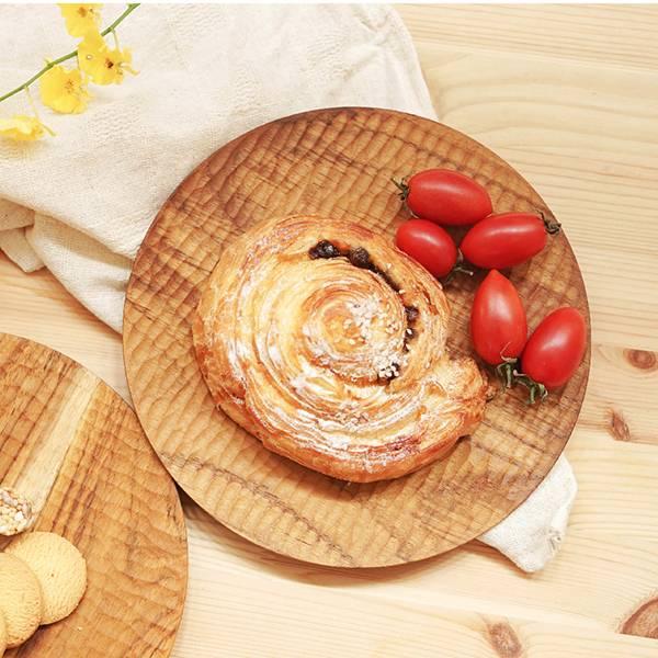 天然柚木圓盤-波點款/條紋款 柚木,廚房,餐具,筷子,環保